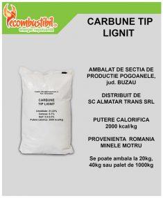 Carbune Lignit Saci 40 Kg